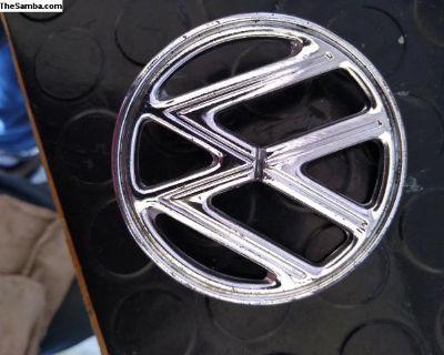 Oval Hood Badge