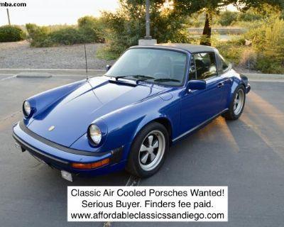 [WTB] Wanting Classic Porsches