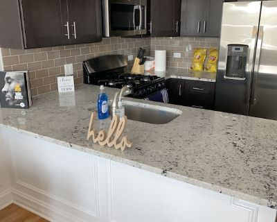 Nice 2 bedroom stay 5 min United center - West Town
