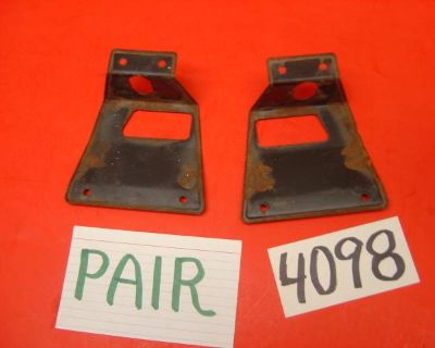 Mustang Oem Fold Down Seat Latch Covers Fit 67 68 69 70 - Pair