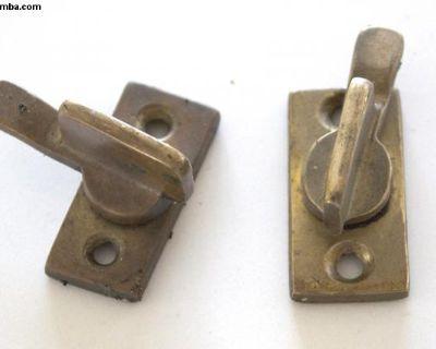 Orig. Westfalia SO23 SO34 SO35 Brass Door Latches