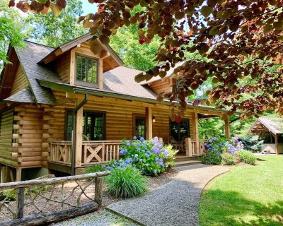 Luxury Log Cabin With Spa Bathroom, Hot Tub, Fire Pit, Wifi - Maxwell Mill