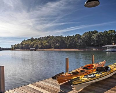 Anderson House w/ Private Dock on Lake Hartwell! - Anderson County