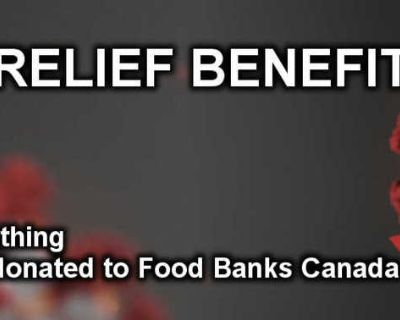 COVID-19 Relief Benefit Sale (5% off + 5% donated)