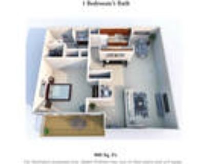 Knobs Pointe Apartments - 1 Bedroom 1 Bath C