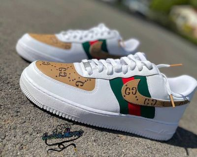 Custom GucciGG Airforce 1s