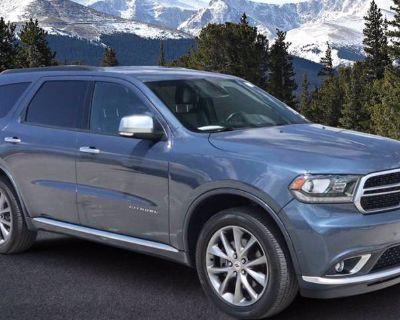 2020 Dodge Durango Citadel Anodized Platinum