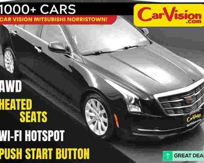 2017 Cadillac ATS 2.0L Turbo MEDIA SCREEN SUNROOF BACK-UP CAMERA