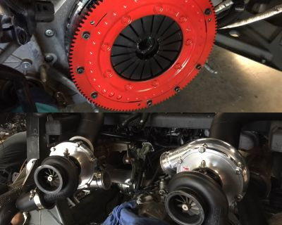 Another Twin Turbo R8 gets Hi Tech Exotic R8 Kevlar clutch