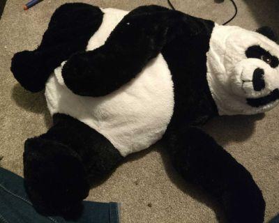 Large panda bear plush