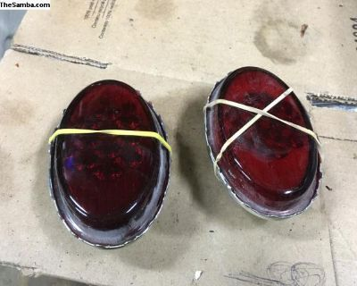 New snowflake taillight lens