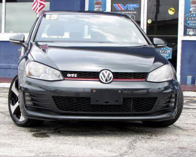2015 Volkswagen Golf GTI 4dr HB Man S