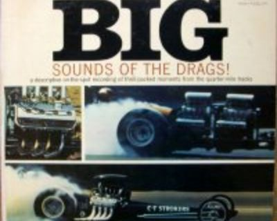 Vintage 1963 Big Sounds of the drags LP