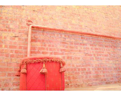 Rustic studio w/patio atmosphere, raw brick wall & natural lighting, Berwyn, IL