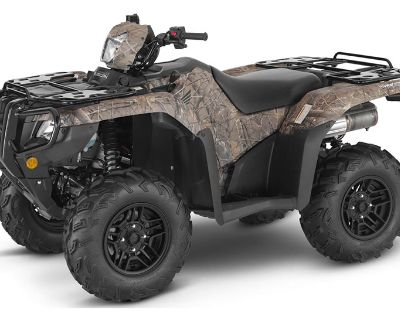 2022 Honda FourTrax Foreman Rubicon 4x4 Automatic DCT EPS Deluxe ATV Utility Sumter, SC