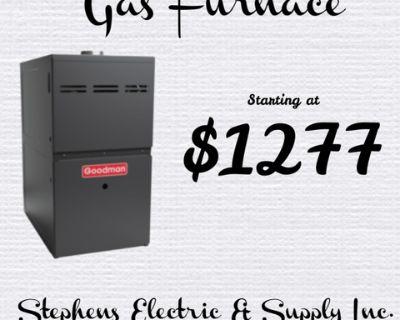 Gas Furnace 80%