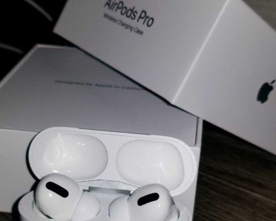Like New Airpods Pro W/ Charging Case In original Box.