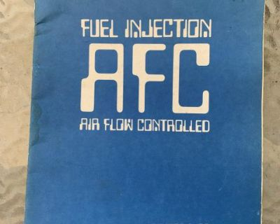 AFC factory injection training book