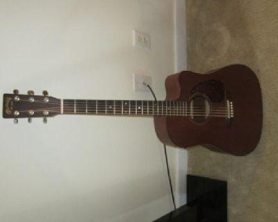 $700 Martin DC 15E Acoustic Electric Guitar