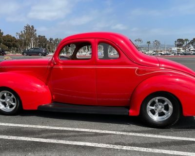 1940 Ford Coupe All-Steel Coupe Restored V8