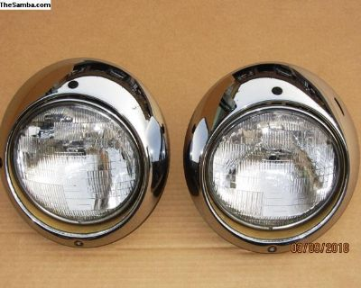 911 porsche headlights