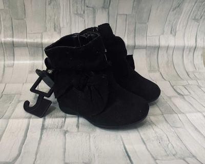 Wonder Nation Black Boots NWT