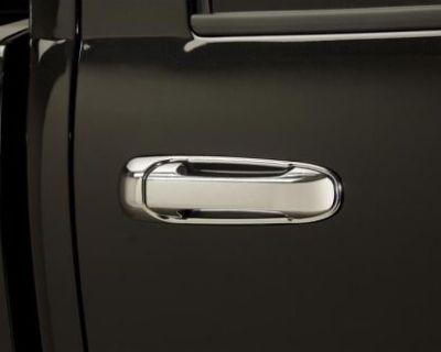 Door Handle Cover Chrome 2004 - 2014 Dodge Ram 2 Doors
