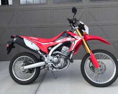 2017 CFR 250 L Honda motorcycle