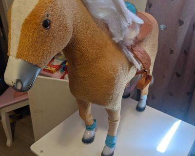 Bigish barbie horse