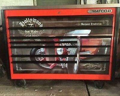 MATCO series Hollywood Hot Rod toolbox