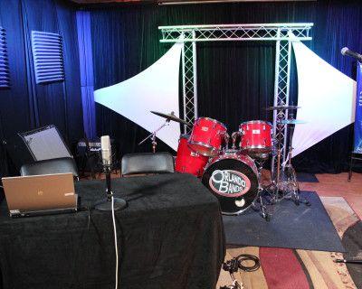 Rehearsal, Recording, Live-Streaming Private Studio, Orlando, FL