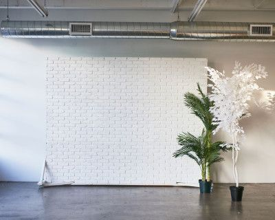 Large & Bright Photo Studio with Full Mirror wall for dancing and music videos, Large framed windows, concrete floors & Rolling Flat - Hill 3, Los Angeles, CA