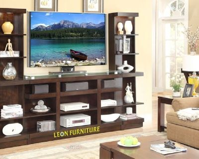 Buy Online Wall units Furniture Phoenix | Leon Furniture Store