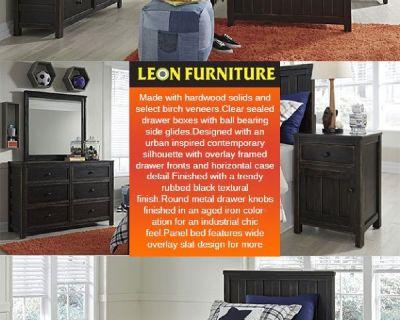 Jaysom Black B521Y 4 PC Twin Bedroom Set Leon Furniture Store