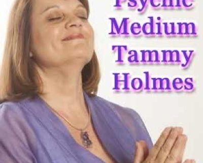 Natural born Psychic Medium Tammy J Holmes