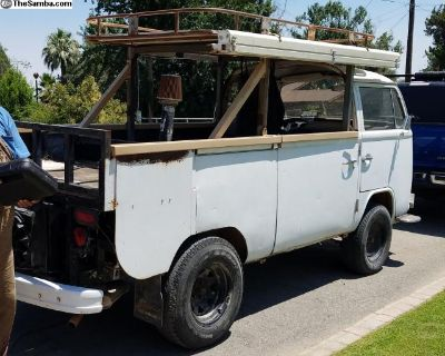 1974 Bay Window Bus V6 engine Baja Single Cab