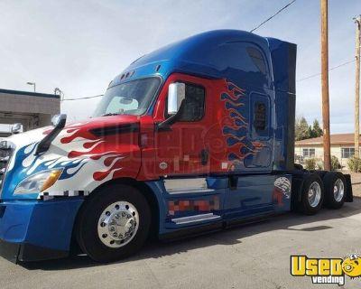 2019 Freightliner Cascadia 126 Sleeper Cab Semi Truck Detroit DD15