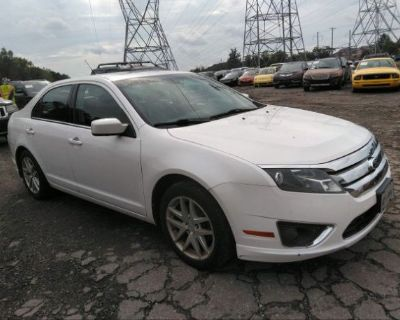 Salvage White 2011 Ford Fusion