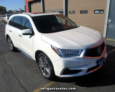 Used 2018 Acura MDX SH-AWD 9-Spd AT w/Tech Package