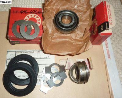 NOS German Wheel ball bearing kit to 1965