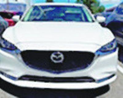 MAZDA 2018 MAZDA6 Grand Touring Reserve Sedan, Automatic, Front Wheel Drive, 6 Speed,...