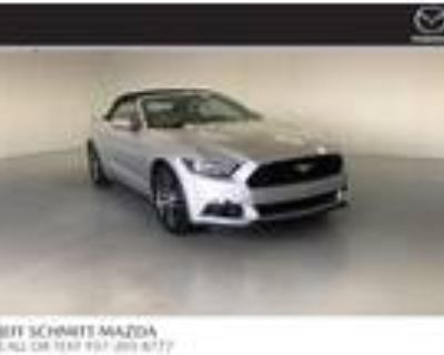 2017 Ford Mustang Silver, 69K miles