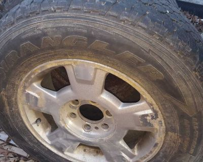 Ford f150 6 bolt spare