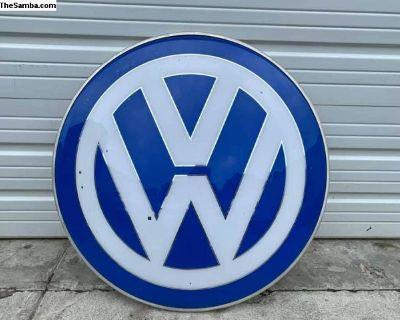 [WTB] Volkswagen Signs / Dealer Sign