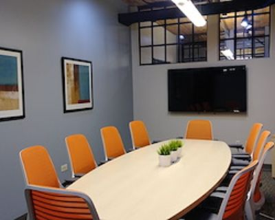 Private Meeting Room for 10 at Office Evolution - Denver/Downtown Market Street