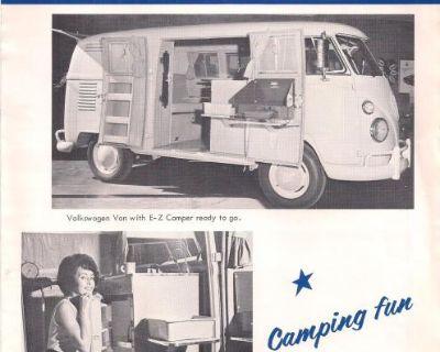 1964 4 Page EZ Camper Bus Sales Brochure