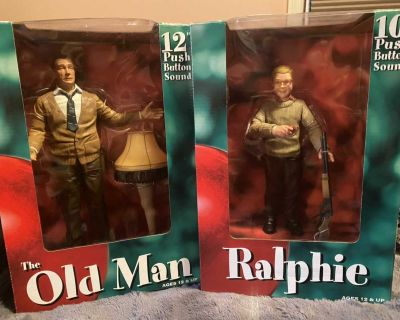 A Christmas Story collectible figures