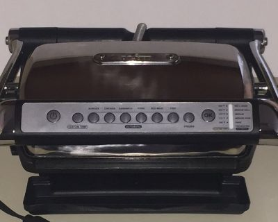 All-Clad AutoSense Indoor Grill 8358s2