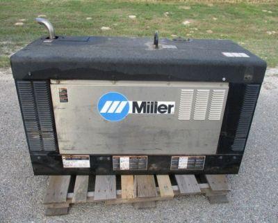 2018 Miller Big Blue 400 PipePro Diesel Welder RTR# 1033709-01