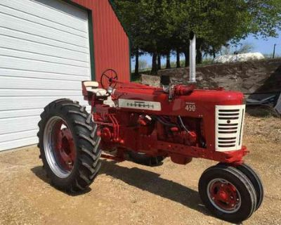 Looking for international tractors an implements of any size and any shape shoot m